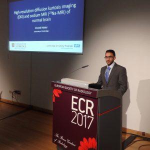 Ahmed Maiter - talk at ECR