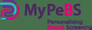 Logo: MyPeBS - Personalising Breast Screening