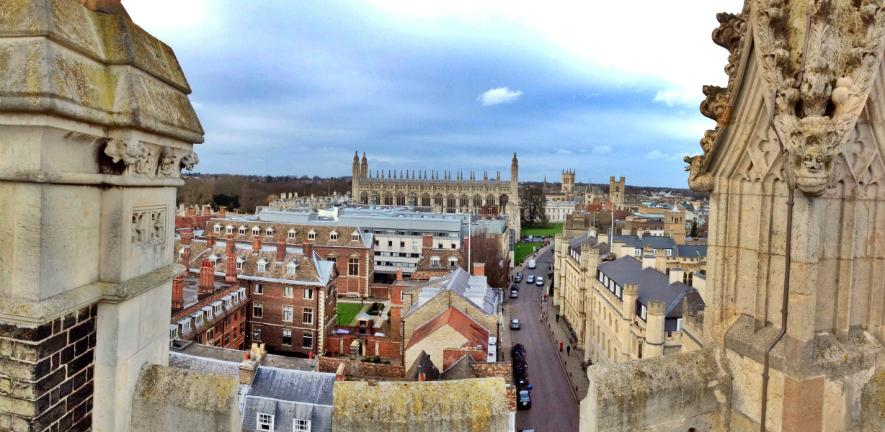 photo: rooftop view of Cambridge